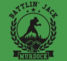 battlin jack murdock daredevil Kids Tee