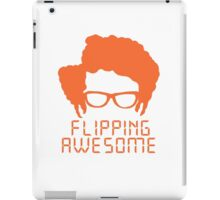 Flipping Awesome iPad Case/Skin