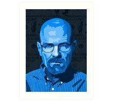 Breaking Bad Heisenberg Graphic Art Print