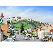 Arriving at Saint-Flour, Cantal, Auvergne France Photographic Print