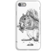 Picnic The Squirrel iPhone Case/Skin