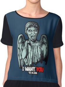 Weeping Angel Chiffon Top