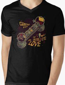 Mystery Science Theater 3000 (MST3K) Mens V-Neck T-Shirt