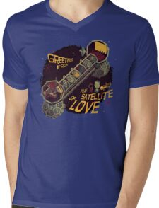 Mystery Science Theater 3000 (MST3K) Mens V-Neck T-Shirt