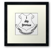 i ship dramione Framed Print