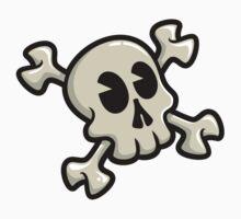 Toon Skull- White Version by JakGibberish