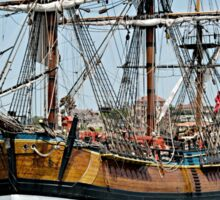 Tall Ship, Bark Endeavour. Sticker