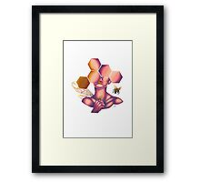 bees I guess Framed Print