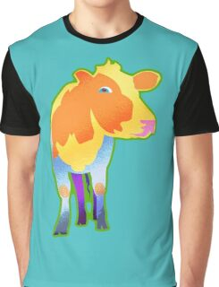 Cosmic Cow Graphic T-Shirt