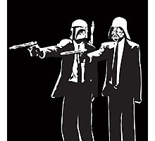 Pulp Fiction-Darth & Boba Hit Men Photographic Print