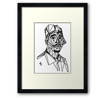 2Pac Tribute Framed Print