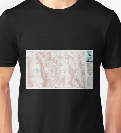 USGS TOPO Map California CA Death Valley Junction 299074 1986 100000 geo Unisex T-Shirt