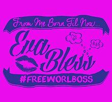 EVA BLESS #FREEWORLBOSS PURPLE by hznbrg