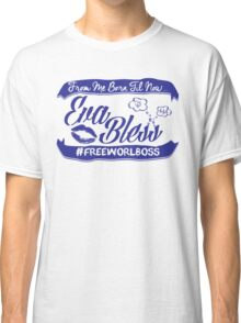 EVA BLESS #FREEWORLBOSS PURPLE Classic T-Shirt
