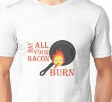 Bacon Burning Unisex T-Shirt