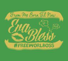 EVA BLESS #FREEWORLBOSS YELLOW by hznbrg