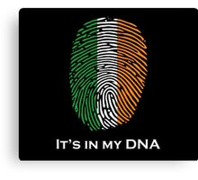 I'm Irish, It's in my DNA! Canvas Print