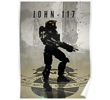Heroes of Gaming - John 117 Poster