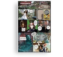 Warehouse in Wonderland Canvas Print