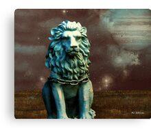 Leo Celestial Canvas Print