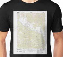 USGS TOPO Map California CA Calistoga 20120213 TM geo Unisex T-Shirt