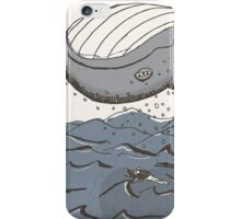 Whale of a Day iPhone Case/Skin