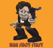 Han Shot First by teeshirtninja