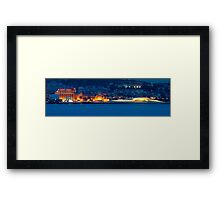 the museums  Framed Print