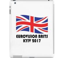 Eurovision Brits [Kyiv 2017] iPad Case/Skin