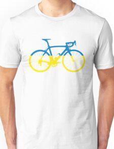 Bike Flag Ukraine (Big) Unisex T-Shirt