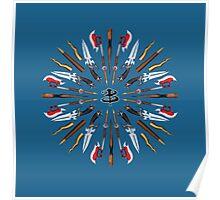 Buffy Mandala Poster