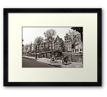 Lonely Bicycles Framed Print