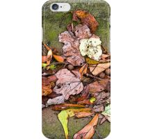Fall in Swing iPhone Case/Skin