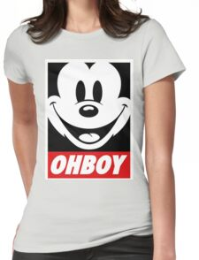 OhBoy Womens Fitted T-Shirt