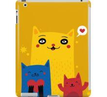 Cats So Full of Love iPad Case/Skin