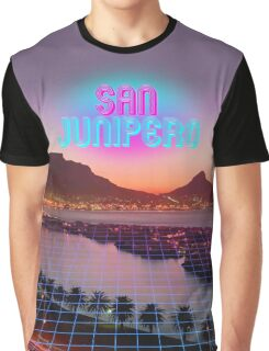 San Junipero - Black Mirror Graphic T-Shirt