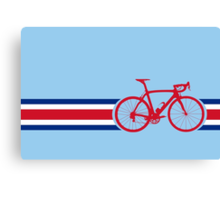 Bike Stripes Coata Rica Canvas Print