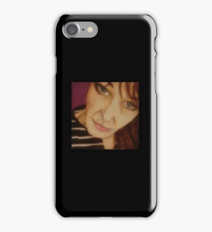 Stripey Self Portrait iPhone Case/Skin