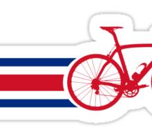 Bike Stripes Coata Rica Sticker