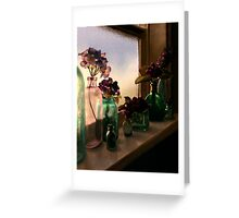 Flower Sill Greeting Card