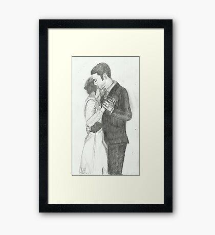 The First Dance Framed Print