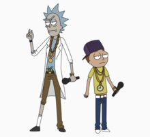 Rick and Morty - Rappers Kids Tee