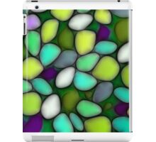 Abstract mosaic multicolored background iPad Case/Skin