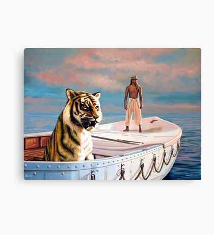 Life Of Pi Painting Canvas Print