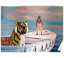 Life Of Pi Painting Poster