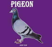 Pigeon by IceTigerKitten