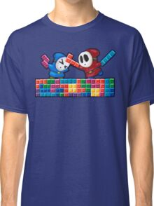 Shy Guys Playing Tetris Classic T-Shirt