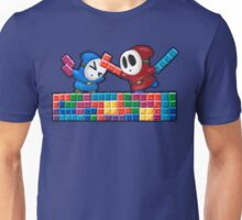 Shy Guys Playing Tetris Unisex T-Shirt