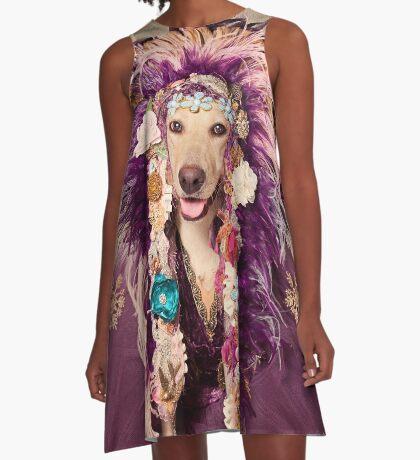 Shelter Pets Project - Catori A-Line Dress