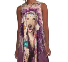 Shelter Pets Project - Catori A-Line Dress